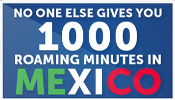 1000 minutes in mexico