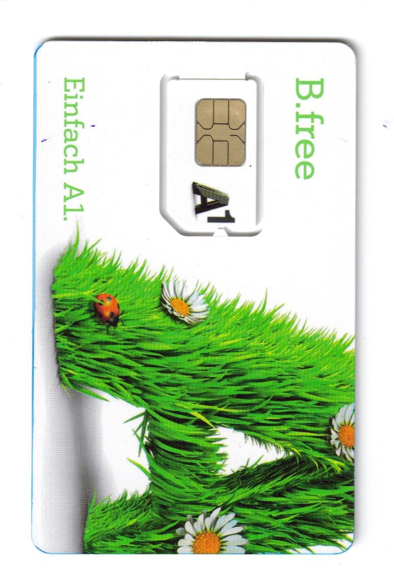 A1 Austria B Free Sim Card