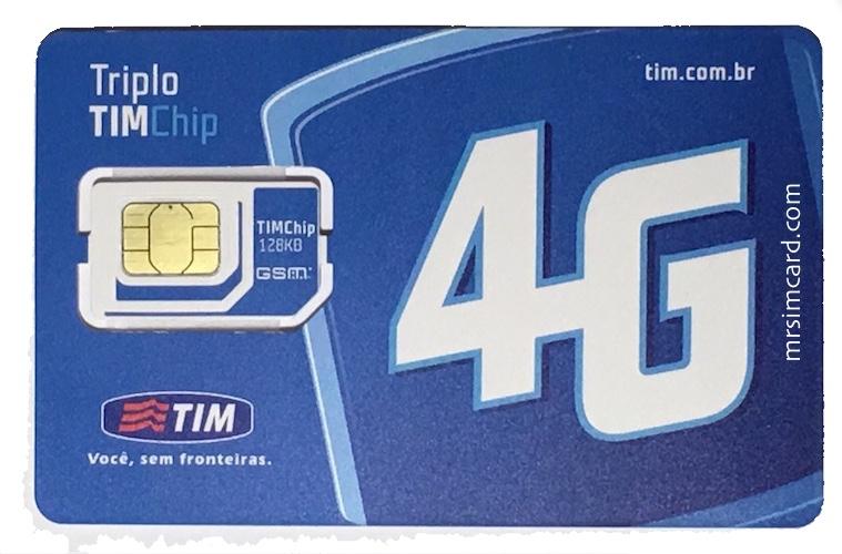 TIM Brazil Sim Card- @mrsimcard