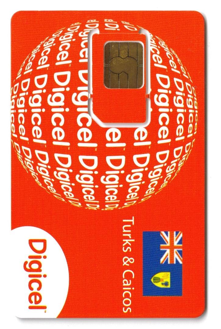 Digicel Turks & Caicos logo