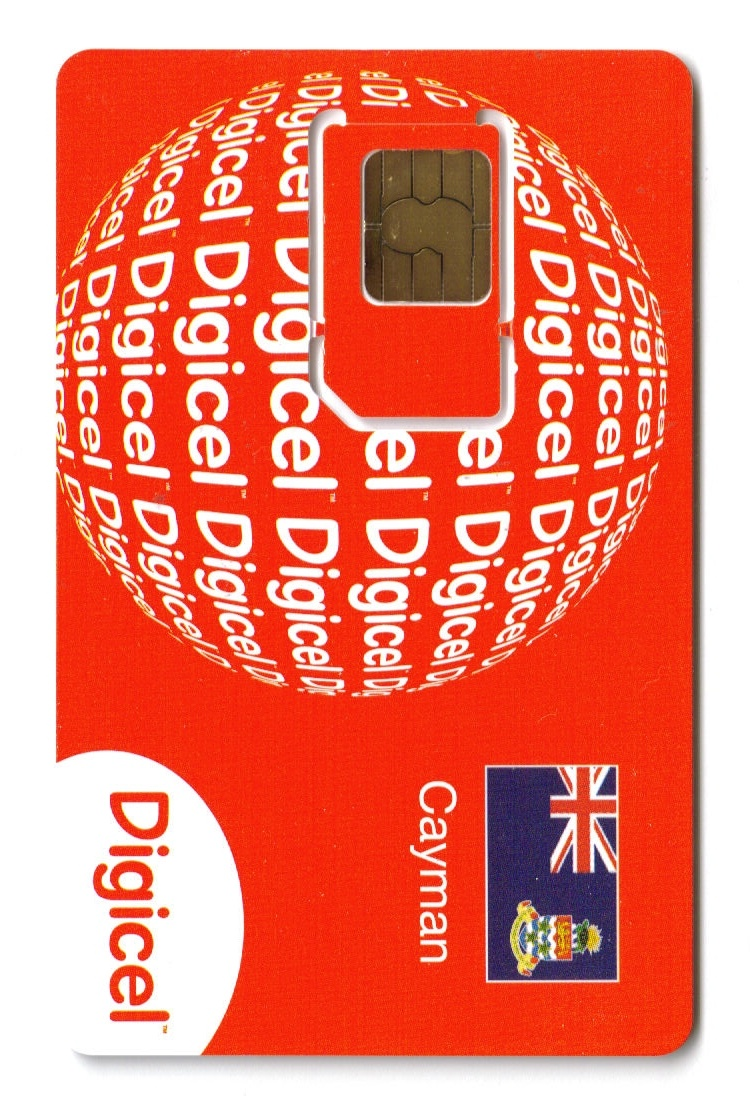 Digicel The Cayman Islands logo