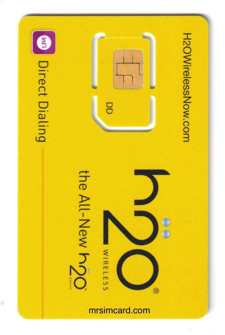 H2O Wireless sim