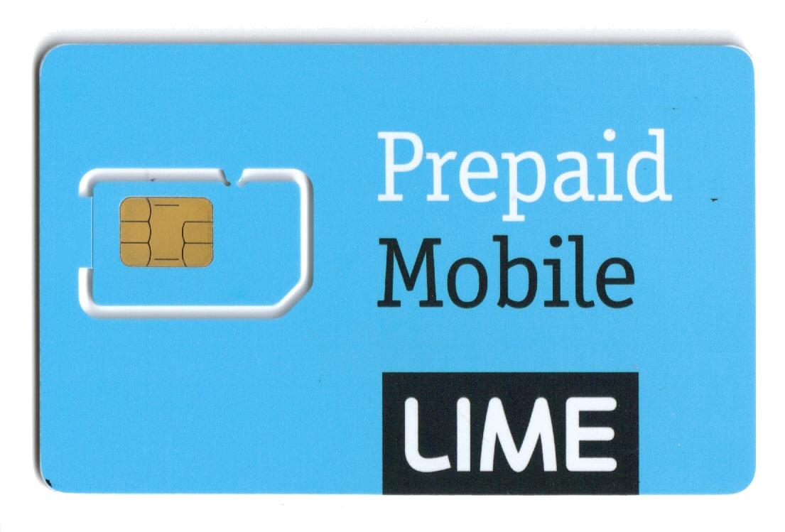 LIME Sim Card