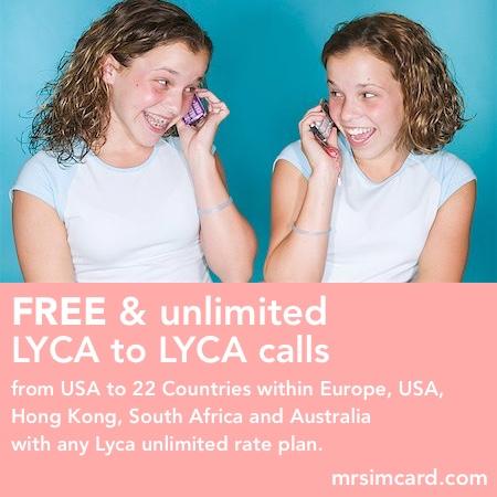 Lycamobile USA Unlimited Sim Card- @mrsimcard