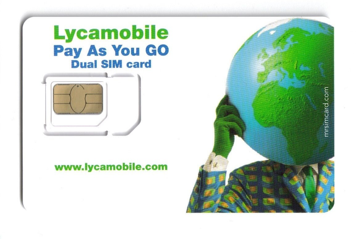 how to get lycamobile account number