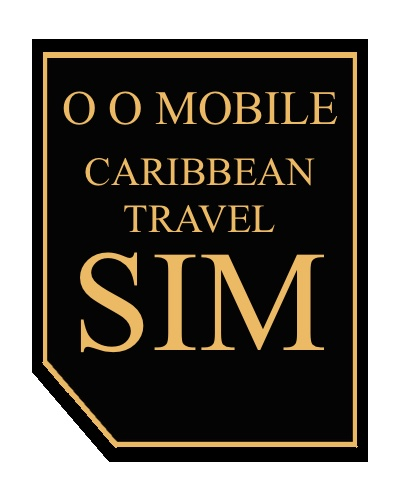 O O Mobile Caribbean TravelSim Card
