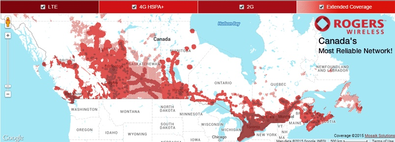 Mrsimcard Rogers Canada Recharge Rogers Canada Top Up Rogers - Rogers-us-coverage-map