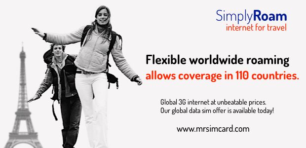 Simply Roam Global data sim