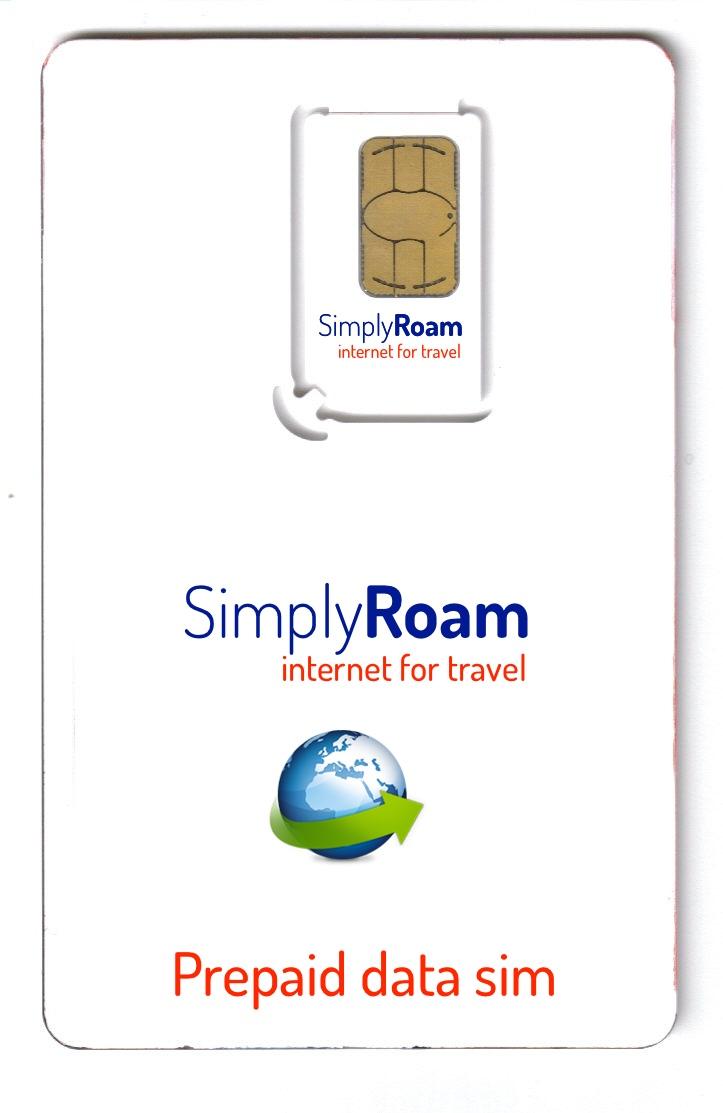 SimplyRoam Data Sim