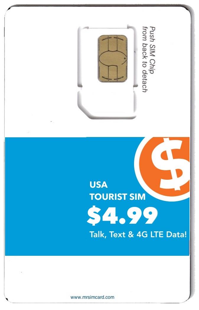usa tourist sim best deals mrsimcard - Prepaid Sim Card Usa For Tourists