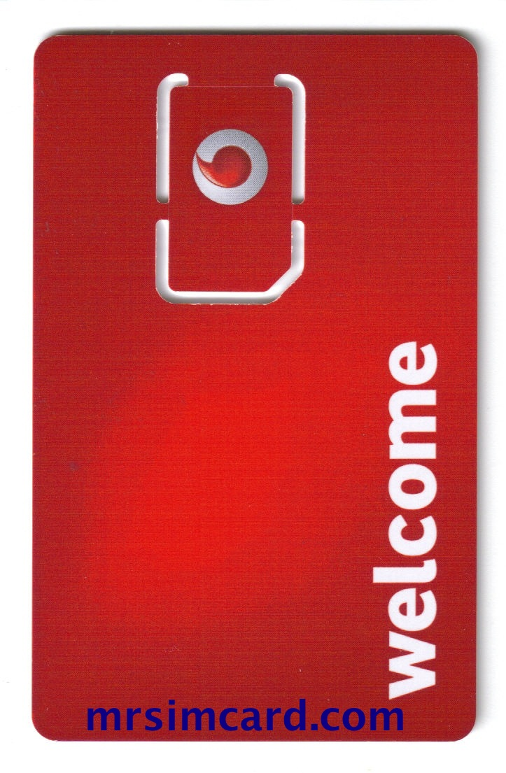 Vodafone UK Sim Card