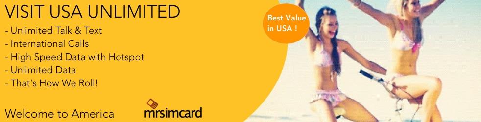 USA TOURIST SIM