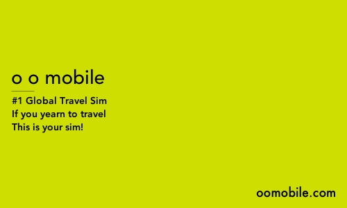 O O Mobile Global Travel Sim